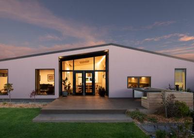 Bowhill Road Garden - Warren Clarke Architect Christchurch
