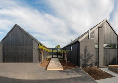 H-shape-house | Warren Clarke Architecture NZ